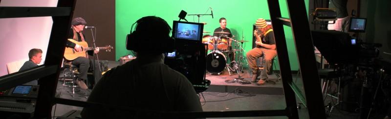 "Music video ""shoot"" in Castleton video studio"