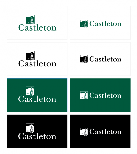 Castleton Logo Treatments