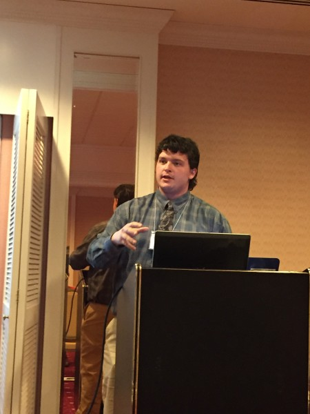 Pat Cote-Abel presents at conference