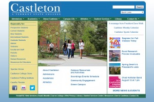 Old Home Page
