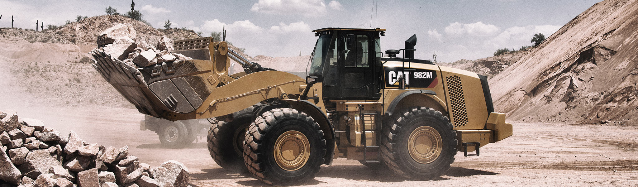 Cat All Day Cat® 982M Wheel Loaders - Cat All Day