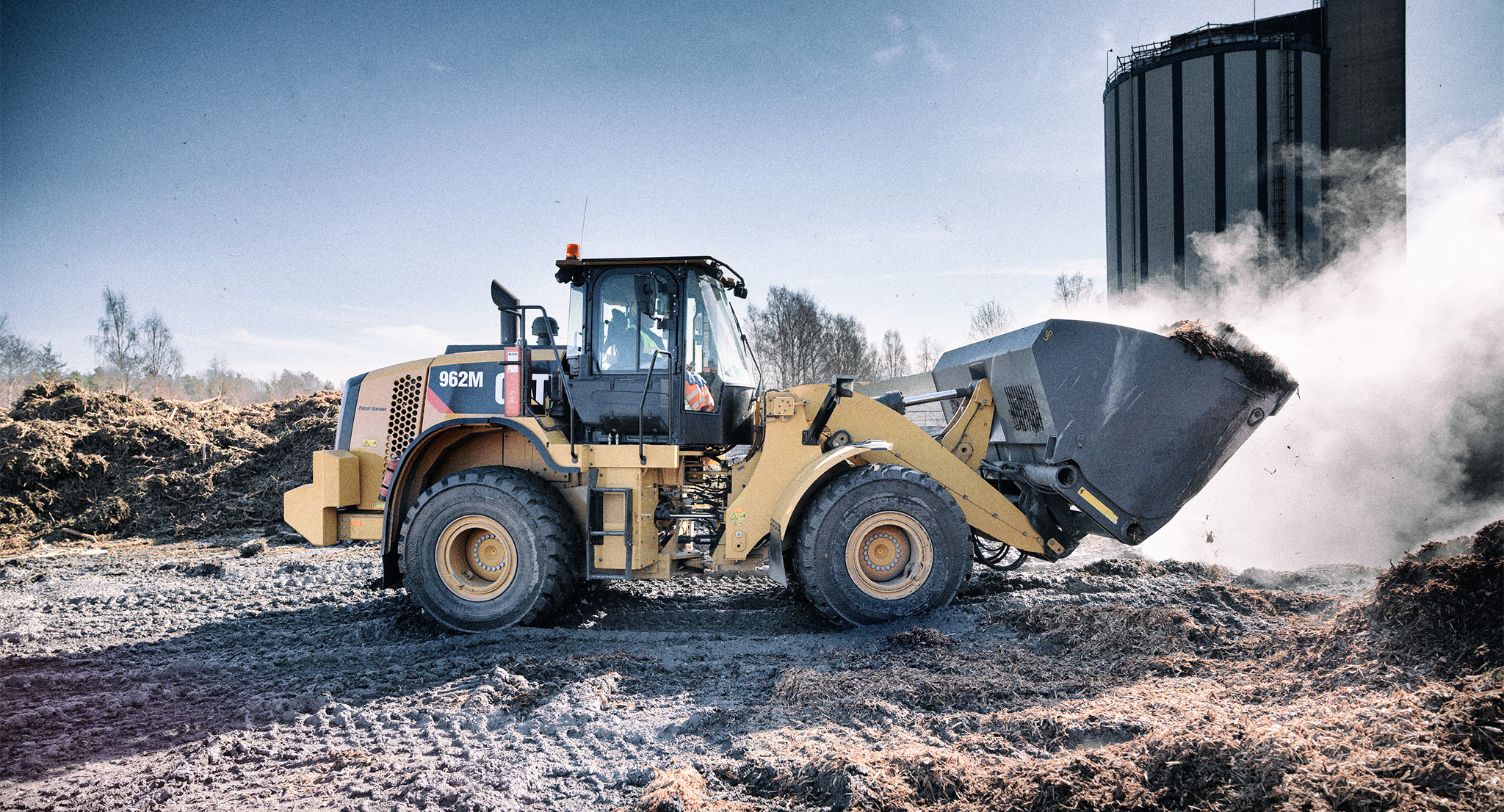 Cat All Day CAT® WHEEL LOADERS: Get the Job Done—and Then Some - Cat