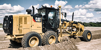 Cat All Day Cat® Motor Graders: Get the Performance Edge