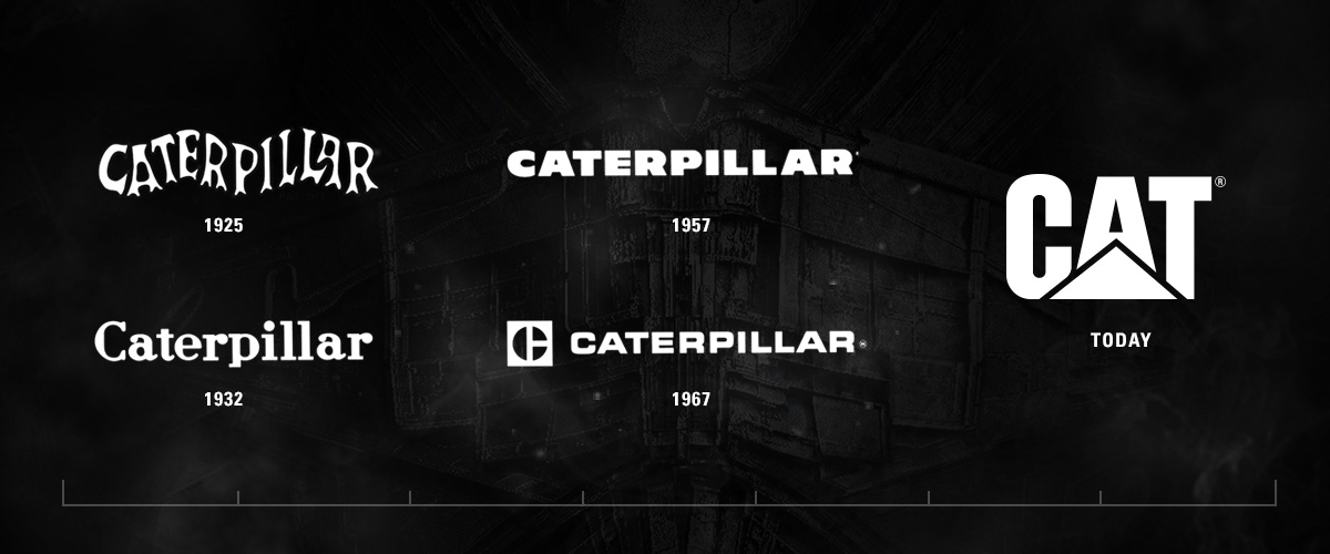 Cat All Day The Caterpillar Logo: Transformation Through Time - Cat