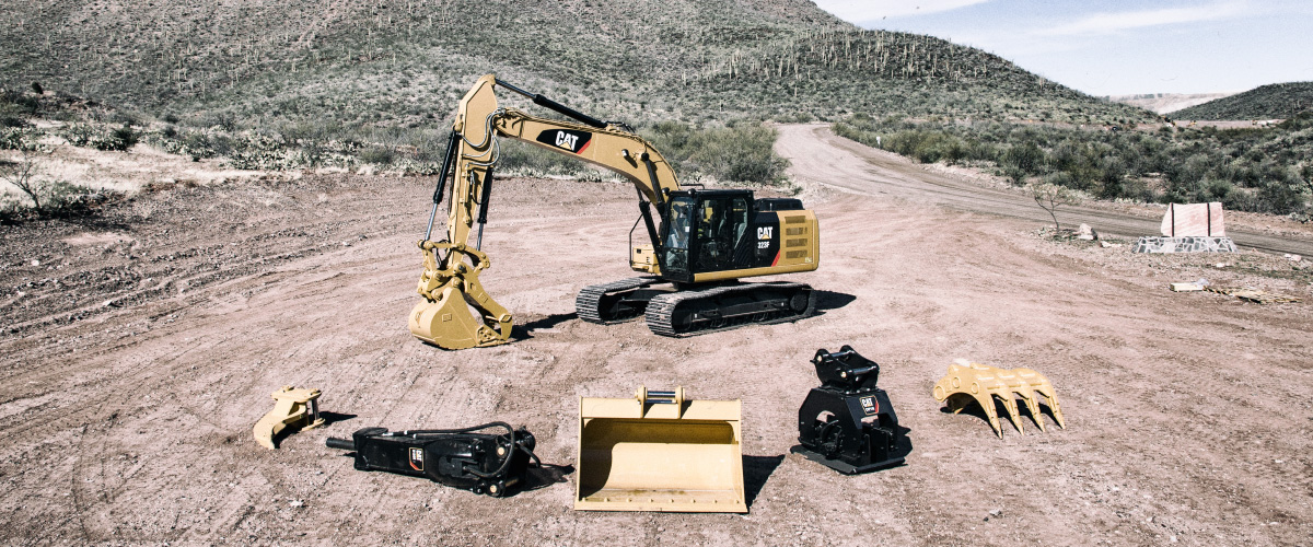 Cat All Day FIVE TIPS FOR CHOOSING EXCAVATOR ATTACHMENTS - Cat All Day