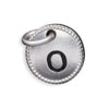 Silver Tone Initial O