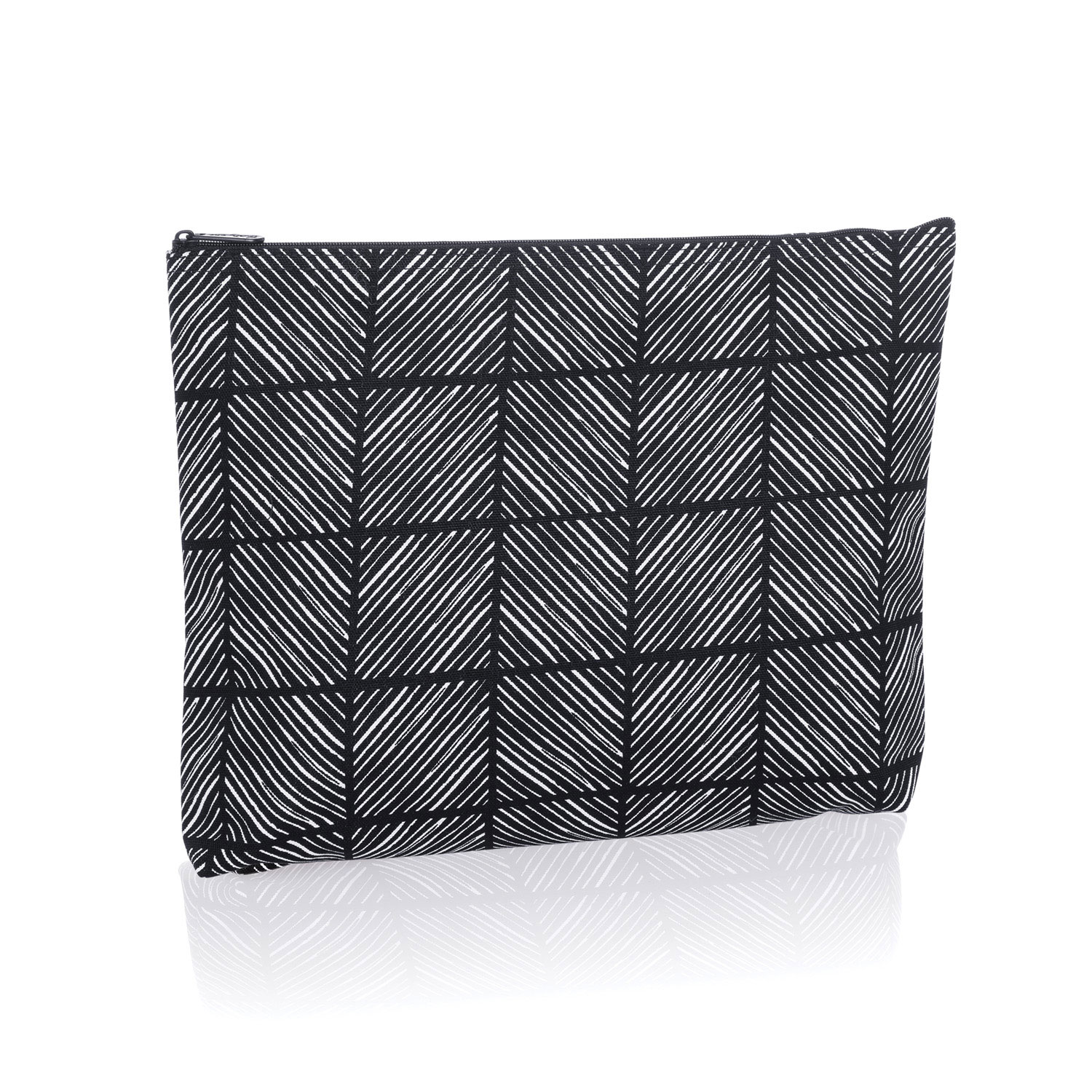 great garage business ideas - Chevron Squares Zipper Pouch Thirty e Gifts