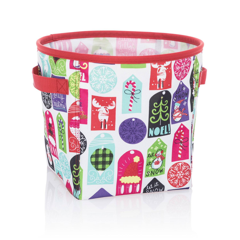 Hello Holiday Mini Storage Bin Thirty One Gifts