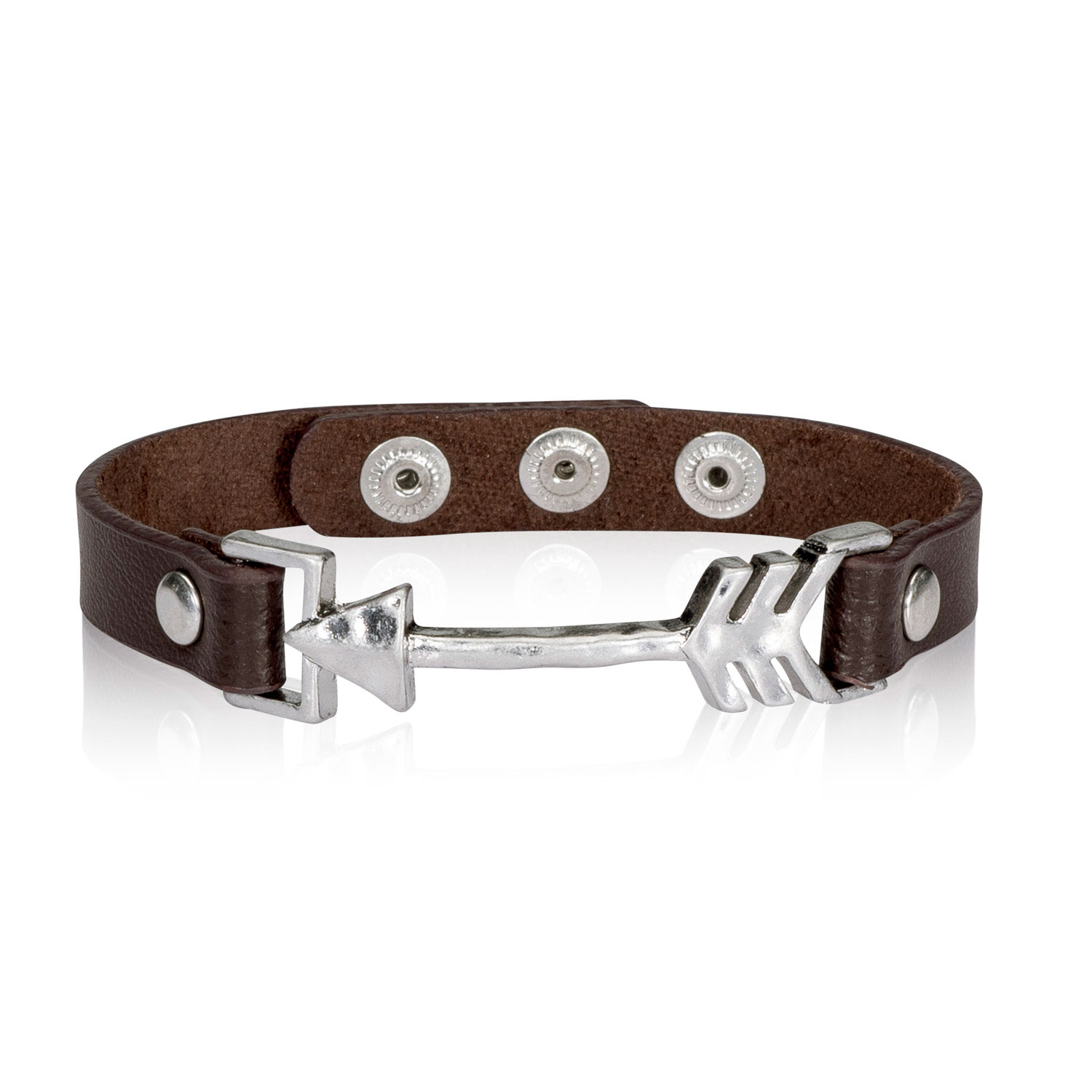 sku leather icon bracelet thirty one gifts