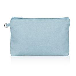 Mini Zipper Pouch - Stone Blue