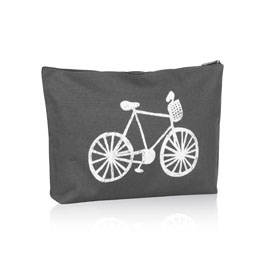 Zipper Pouch - Bicycle