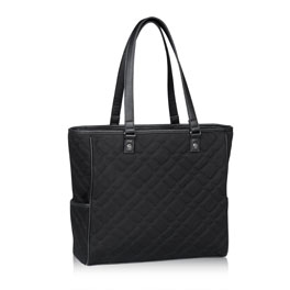 Cindy Tote - Quilted Plaid