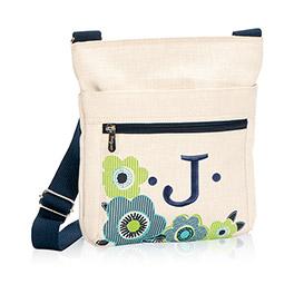 Organizing Shoulder Bag - Natural w/ Fabulous Floral