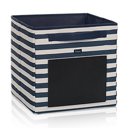 Your Way Cube - Navy Rugby Stripe w/ Chalk