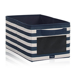 Your Way Rectangle - Navy Rugby Stripe w/ Chalk