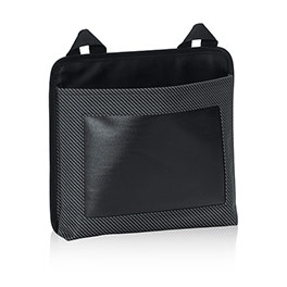 Oh-Snap Pocket - Black Twill Stripe w/Chalk