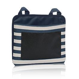 Oh-Snap Pocket - Navy Rugby Stripe w/Chalk