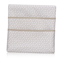 Wall Together Pocket Board - Taupe Dancing Dot