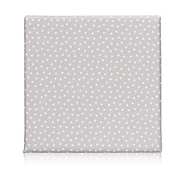 Wall Together Pinboard - Taupe Dancing Dot