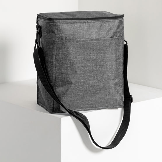 Picnic Thermal Tote - Charcoal Crosshatch
