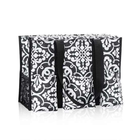 Zip-Top Organizing Utility Tote - Medallion Medley
