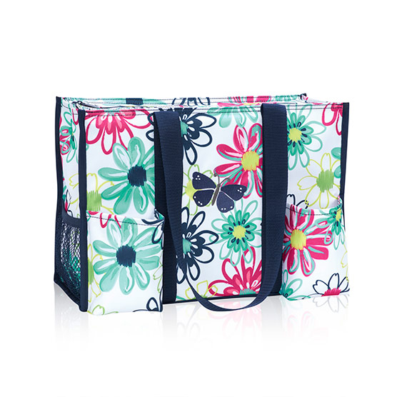 Zip-Top Organizing Utility Tote - Loopsy Daisy
