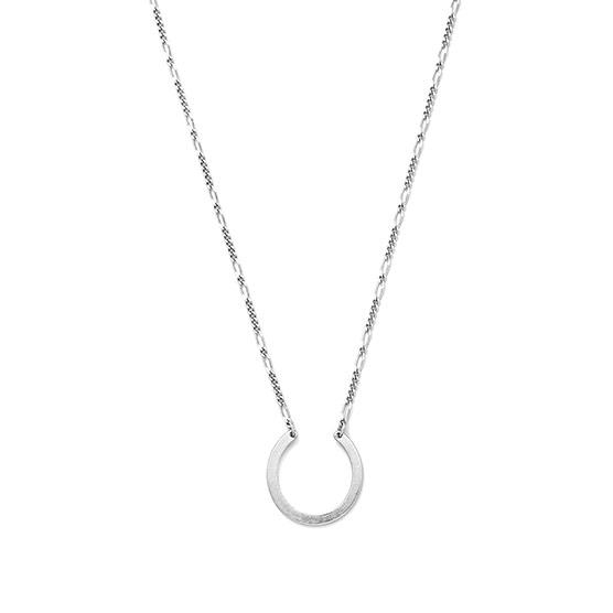 Dream Catcher Necklace - Silver Tone