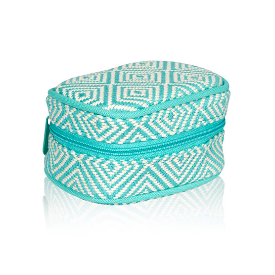 Cute Case - Turquoise Graphic Weave