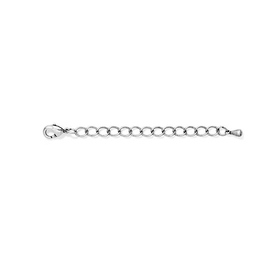 Necklace Extender - 2 inch - Silver Tone