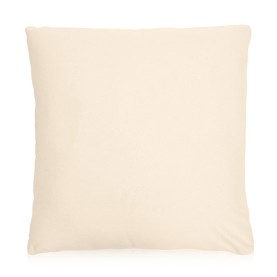 Statement Canvas Pillow Cover 24x24 - Natural