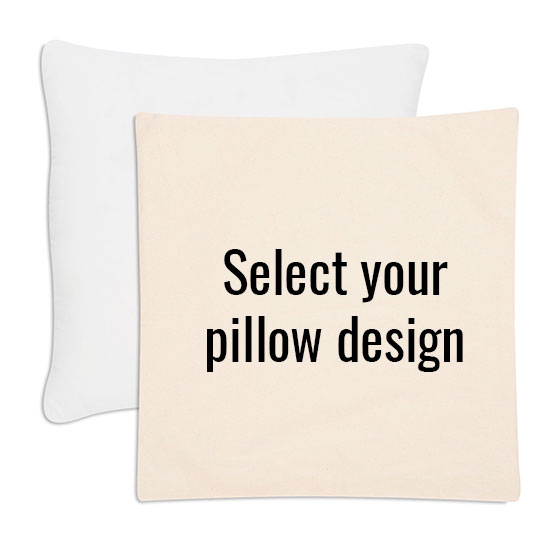 Statement Canvas Pillow Cover & Insert 24x24 - Natural
