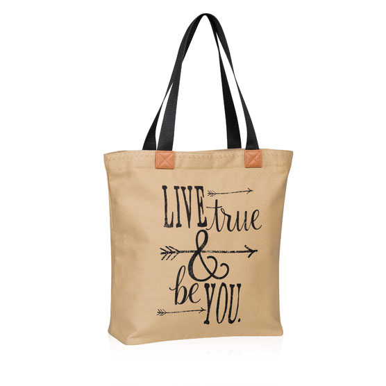 Wander Tote - Live True & Be You