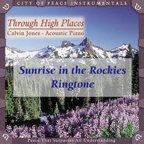 Sunrise in the Rockies by Calvin Jones