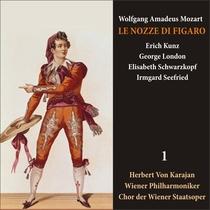Mozart: Le Nozze di Figaro (Schwarzkopf, Kunz, Karajan) [1950] Volume 1 by Elisabeth Schwarzkopf, Erich Kunz, G.London, I.Seefried, Herbert von Karajan, Wiener Philharmoniker