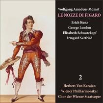 Mozart: Le Nozze di Figaro (Schwarzkopf, Kunz, Karajan) [1950] Volume 2 by Elisabeth Schwarzkopf , Erich Kunz, G.London, I.Seefried, Herbert von Karajan, Wiener Philharmoniker