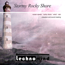 Stormy Rocky Shore by Technomind