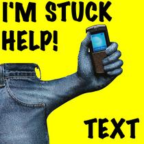 I'm Stuck Help! Text by Hi Five Ring Ring Alert Tones