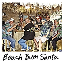 Beach Bum Santa by Cabana Man