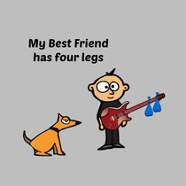 My Best Friend Has Four Legs by Chad Logan