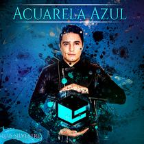 Acuarela Azul by Luis Silvestre