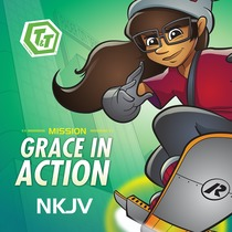 T&T Mission: Grace in Action NKJV by Awana
