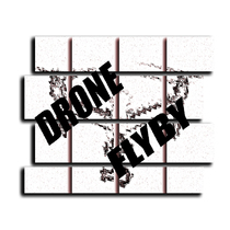 Drone Flyby by CJ