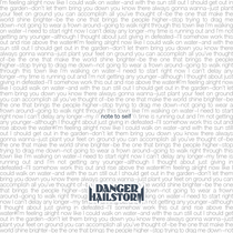 Note to Self by Danger Hailstorm
