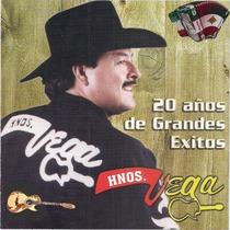20 Años de Grandes Exitos by Hermanos Vega De Ramon Vega