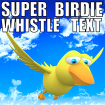 Super Birdie Whistle Text by Cute Cool Whistle Ring Ring Tone Alert