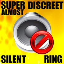 Super Discreet Almost Silent Ring by Silence Peace Quiet Alarm & Tone Alerts