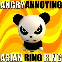 Angry Annoying Asian Ring Ring by Asian Style Ringtone Alert