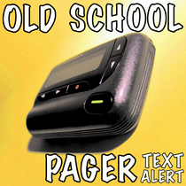 Old School Pager Text Alert by Classic Beeper Ring Tone & Text Alert