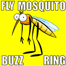 Fly Mosquito Buzz Ring by Super Cool Bee & Bug Tone
