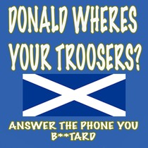 Donald Wheres Your Troosers? Answer the Phone You B**tard by Marimbas In Paris